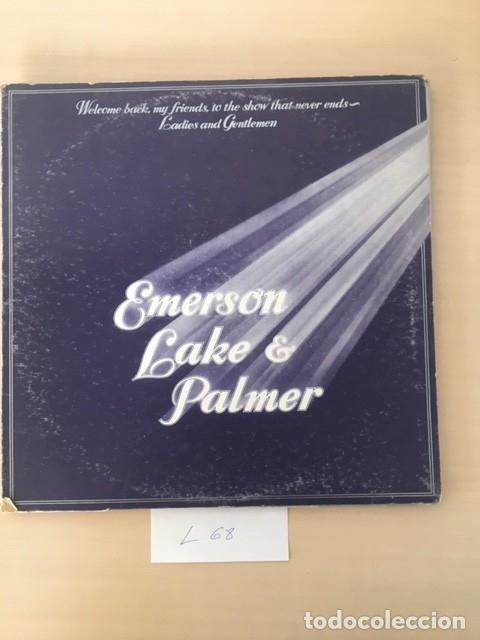 EMERSON LAKE & PALMER LP 3 DISCOS (Música - Discos - LP Vinilo - Pop - Rock - Extranjero de los 70)