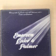 Discos de vinilo: EMERSON LAKE & PALMER LP 3 DISCOS. Lote 177850588