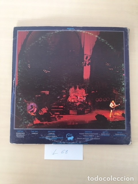 Discos de vinilo: EMERSON LAKE & PALMER LP 3 DISCOS - Foto 3 - 177850588