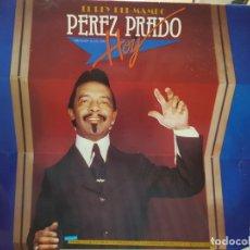 Discos de vinilo: LP DOBLE-PEREZ PRADO-EL REY DEL MAMBO,HOY EN FUNDA ORIGINAL . Lote 177857818