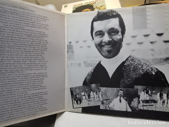 Discos de vinilo: LP DOBLE-PEREZ PRADO-El Rey del Mambo,HOY en funda original - Foto 2 - 177857818