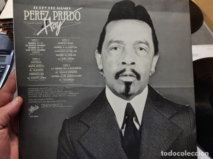 Discos de vinilo: LP DOBLE-PEREZ PRADO-El Rey del Mambo,HOY en funda original - Foto 3 - 177857818