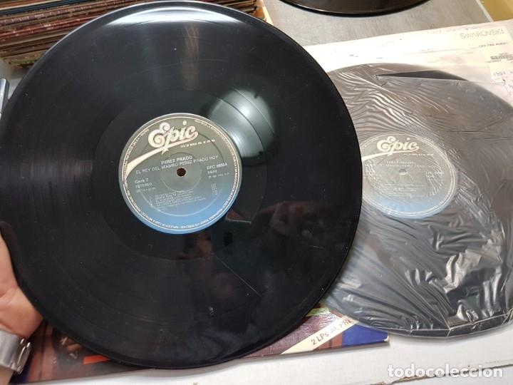 Discos de vinilo: LP DOBLE-PEREZ PRADO-El Rey del Mambo,HOY en funda original - Foto 4 - 177857818