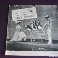 Discos de vinilo: MARY POPPINS SG FLEXI VINILO BLANCO - OBSEQUIO MUÑECAS FAMOSA - PUBLICIDAD AÑOS 60. Lote 177861859