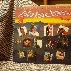 Discos de vinilo: LAS MEJORES BALADAS DEL AÑO 1991, HISPAVOX ?– 79 61981, 2 VINYL, COMPILACION, TEMAS EN LA DESCRIPCN. Lote 177863586
