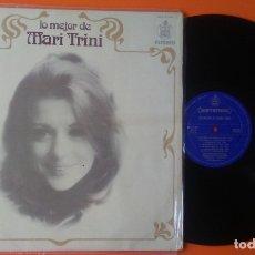 Discos de vinilo: MARI TRINI LO MEJOR DE...HISPAVOX 1975. Lote 166283258
