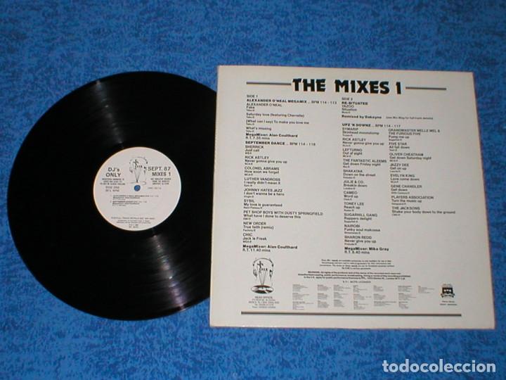 Discos de vinilo: DJ MEMBERS ONLY LP SEPTEMBER 87 THE MIXES 1 NEW ORDER PET SHOP BOYS JACKSONS RICK ASTLEY CHIC CAMEO - Foto 2 - 177866584