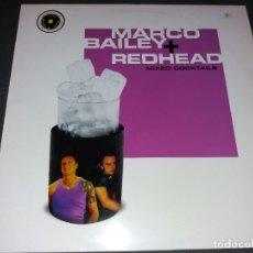 Discos de vinilo: MARCO BAILEY & REDHEAD --- MIXED COCKTAILS. Lote 177874290