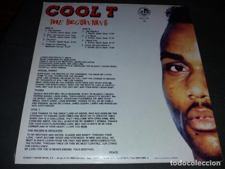 Discos de vinilo: COOL T --- THE BEGUINNIG - Foto 2 - 217817751