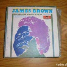 Discos de vinilo: JAMES BROWN. MOTHER POPCORN ( PART. 1 Y 2 ) . POLYDOR, 1969 . Lote 177878642