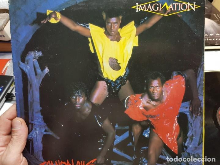 LP-IMAGINATION- SCANDALOUS EN FUNDA ORIGINAL 1983 (Música - Discos - LP Vinilo - Pop - Rock - New Wave Extranjero de los 80)