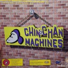 Discos de vinilo: LP-CHIN&CHAN MACHINES- WHAT'S LOVE EN FUNDA ORIGINAL 1983. Lote 177881694