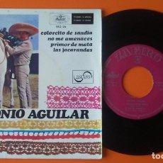 Discos de vinilo: ANTONIO AGUILAR COLORCITO DE SANDIA+3 EP ZAFIRO 1968. Lote 177882415