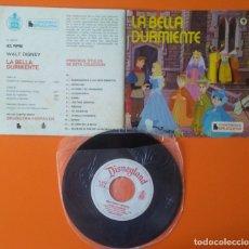 Discos de vinilo: LA BELLA DURMIENTE CUENTO DISCO BRUGUERA HISPAVOX 1968. Lote 177883043