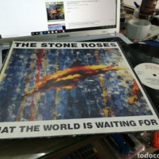 Discos de vinilo: THE STONE ROSES MAXI WHAT THE WORLD IS WAITING FOR 1989 ALEMANIA. Lote 177883982