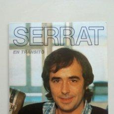 Discos de vinilo: SERRAT - EN TRANSITO, ARIOLA, 1981. SPAIN.. Lote 177886312