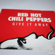 Discos de vinilo: RED HOT CHILI PEPPERS - GIVE IT AWAY SG PROMO ED. ESPAÑOLA 1991. Lote 177891327