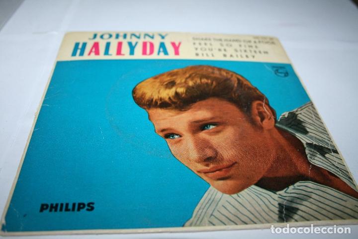 JOHNNY HALLYDAY SHAKE THE HAND OF A FOOL - 1962 - ED. ESPAÑOLA (Música - Discos de Vinilo - EPs - Pop - Rock Internacional de los 70)