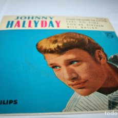 Discos de vinilo: JOHNNY HALLYDAY SHAKE THE HAND OF A FOOL - 1962 - ED. ESPAÑOLA. Lote 177892514