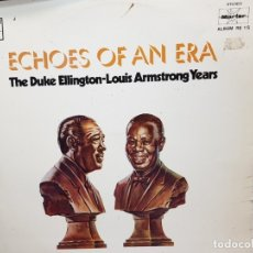 Discos de vinilo: DOBLE LP-LOUIS ARMTRONG-ECHOES OF AN ERA EN FUNDA ORIGINAL 1977. Lote 177896692