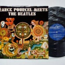 Discos de vinilo: LP: FRANCK POURCEL MEETS THE BEATLES (EMI / LA VOZ DE SU AMO, 1970) - EASY LISTENING DE CATEGORÍA -. Lote 177897044