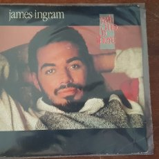 Discos de vinilo: JAMES INGRAM-YAH MO B THERE. Lote 177937929
