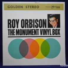 Discos de vinilo: ROY ORBISON - TE MONUMENT VINYL BOX - 4 LP. Lote 177940198