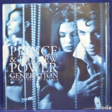 Discos de vinilo: PRINCE & THE NEW POWER GENERATION - DIAMONS AND PEARLS - 2 LP. Lote 177941719