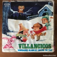 Discos de vinilo: ESCOLANÍA DEL COLEGIO DE SAN ANTONIO DE MADRID - VILLANCICOS - SINGLE MOVIEPLAY 1968. Lote 177944647