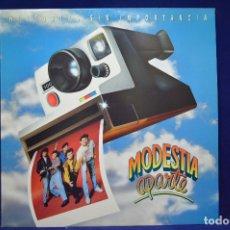 Discos de vinilo: MODESTIA APARTE - - HISTORIAS SIN IMPORTANCIA - LP. Lote 177946943