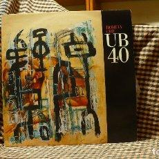 Discos de vinilo: UB40 – HOMELY GIRL, VIRGIN – 612 768, DEP INTERNATIONAL – DEP 33-12,1989, TEMAS EN DESCRIPCIÓN. . Lote 177947509