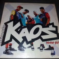 Discos de vinilo: ULTIMATE KAOS --- SOME GIRLS. Lote 177949170