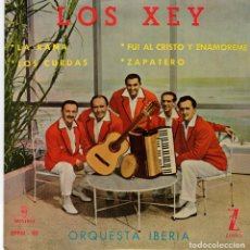 Discos de vinilo: LOS XEY - LA RANA +3 - EP 1959 - PRACTICAMENTE NUEVO. Lote 177949245