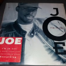 Discos de vinilo: JOE --- I'M IN LUV. Lote 177949300