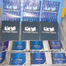Discos de vinilo: MUSICA CLASICA 100 DDD CD Y FASCICULOS. GASTOS DE ENVIO 25€ PARA PENISULA.. Lote 177949803