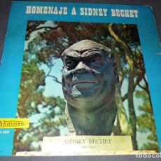Discos de vinilo: SIDNEY BECHET --- HOMENAJE A SIDNEY BECHET. Lote 177951192
