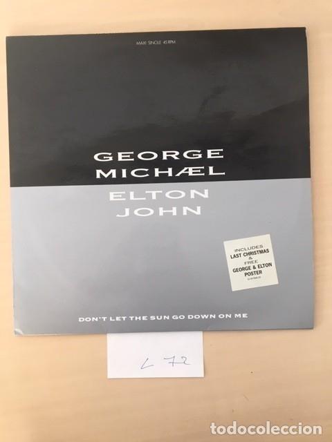 GEORGE MICHAEL Y ELTON JHON (Música - Discos - LP Vinilo - Pop - Rock Extranjero de los 90 a la actualidad)