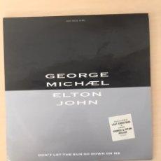 Discos de vinilo: GEORGE MICHAEL Y ELTON JHON. Lote 177953734