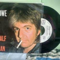 Discos de vinilo: NICK LOWE HALF A BOY & HAL A MAN SINGLE SPAIN 1984 PDELUXE. Lote 177956088