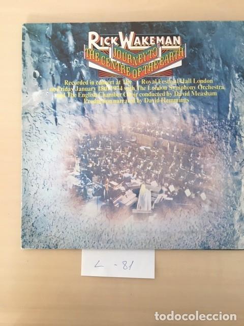 RICK WAKEMAN (Música - Discos - LP Vinilo - Pop - Rock - Extranjero de los 70)