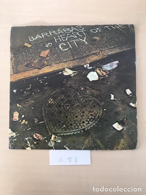 BARRABAS HEART OF THE CITY (Música - Discos de Vinilo - EPs - Grupos Españoles de los 70 y 80)