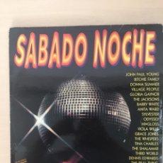 Discos de vinilo: SABADO NOCHE LP VINILO 2 DISCOS. Lote 177960235
