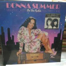 Discos de vinilo: DOBLE LP-DONNA SUMMER-ON THE RADIO EN FUNDA ORIGINAL AÑO 1978. Lote 177973327