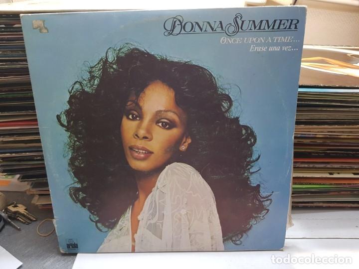 DOBLE LP-DONNA SUMMER-ONCE UPON A TIME EN FUNDA ORIGINAL AÑO 1977 (Música - Discos - LP Vinilo - Disco y Dance)