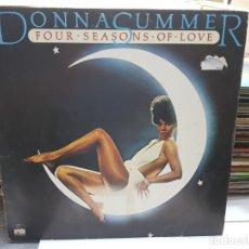 Discos de vinilo: LP-DONNA SUMMER-FOUR SEASONS OF LOVE EN FUNDA ORIGINAL AÑO 1976. Lote 177973504
