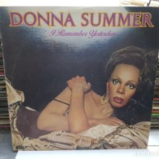 Discos de vinilo: LP-DONNA SUMMER-A REMEMBER YESTERDAY EN FUNDA ORIGINAL AÑO 1977. Lote 177974049