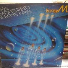 Discos de vinilo: LP-BONEY M-TEN THOUSAND LIGHYEAR EN FUNDA ORIGINAL AÑO 1984. Lote 177976713
