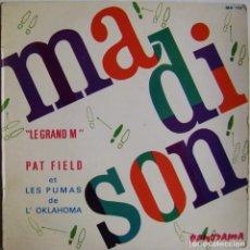 Discos de vinilo: PAT FIELD ET LES PUMAS DE L'OKLAHOMA-LE GRAND M, PANORAMA MH.102, MH 102. Lote 177977932