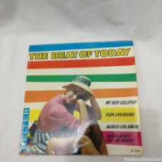 Discos de vinilo: THE BEAT OF TODAY - MY BOY LOLLIPOP. Lote 177978747