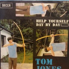 Discos de vinilo: TOM JONES. HELP YOURSELF DAY BY DAY. DECCA. Lote 177981103